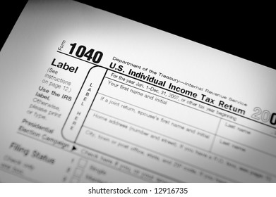 Internal Revenue Service Form 1040