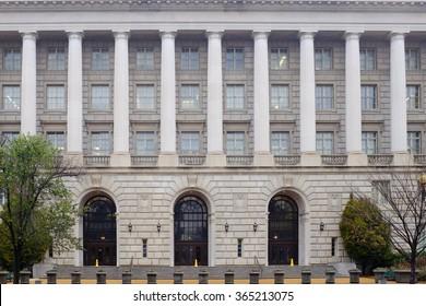 Internal Revenue Service (IRS) Headquarters Building in Washington DC, USA