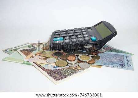 Dollar, currency, currency, exchange, calculator, finance.