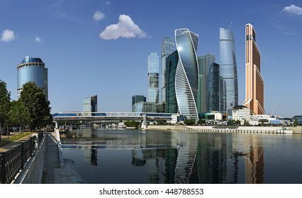 """International Business Centre """"City"""". Moscow. July 6, 2016"""
