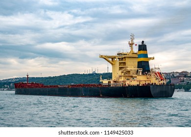 international cargo ship on the sea