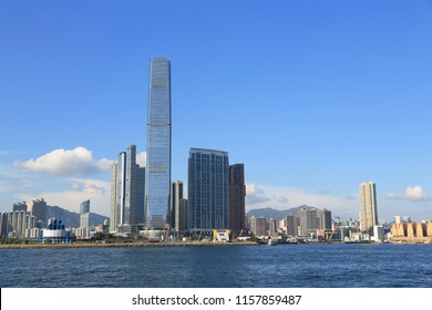 the International Commerce Centre in Hong Kong