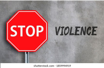 International Day for the Elimination of Violence against Women , an illustration stop violence against woman's