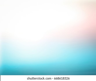 International day of peace concept: Blurred beach background