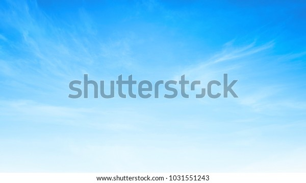 International Day for the Preservation of the Ozone Layer concept: Beauty white cloud and clear blue sky in sunny day texture background