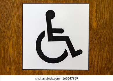 International disabled symbol U+267F. International Symbol of Access (ISA), also known as the (International) Wheelchair Symbol or handicap or handicapped symbol.
