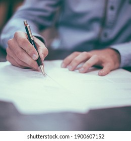 International education day, 24 january, literacy day,A man writing on the paper