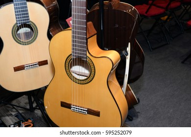 International guitar exhibition 2016 at October 07, 2016 in Budapest, Hungary.