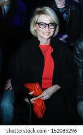 International head editor of Les Editions Jalou Paris - Evelina Khromtchenko - at the Russian Fashion Week fall winter 2011/12 - Moscow, Russia March 29, 2011