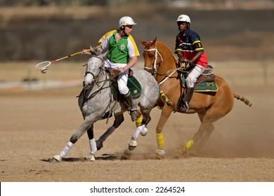 International polocrosse, South Africa versus Ireland, 23 July 2006, Bloemfontein, South Africa