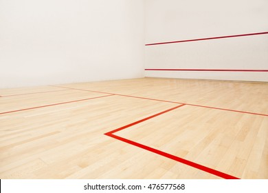 International squash court