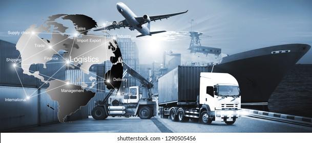 International Transportation, import-export and logistics ,shipping business