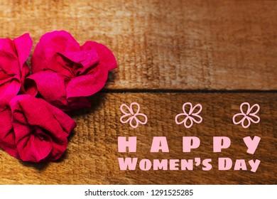 international women day. Greeting card