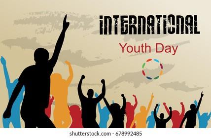 International youth day background