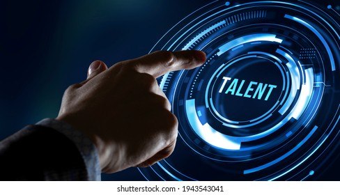 Internet, business, Technology and network concept.Open your talent and potential. Talented human resources - company success