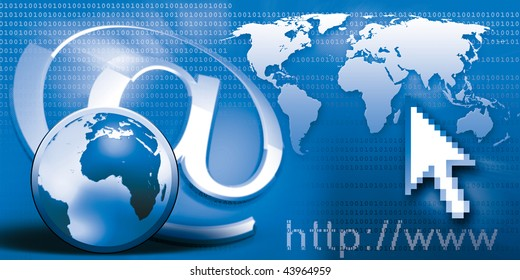 internet communication world wide