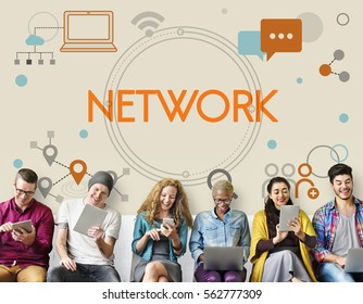 Internet Network Technology Social