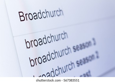 An internet search for information on Broadchurch