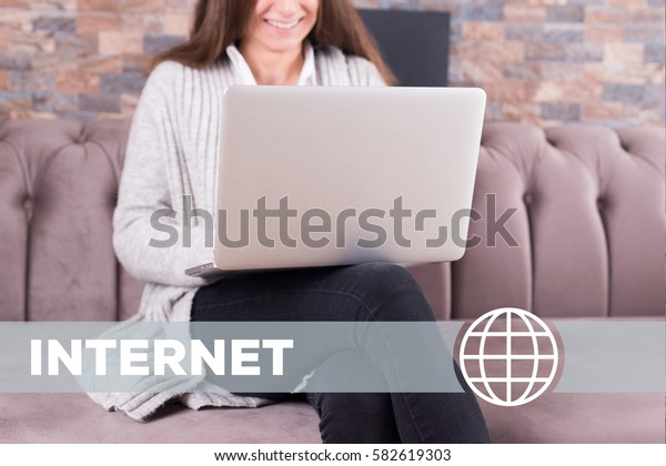 Internet Technology Concept
