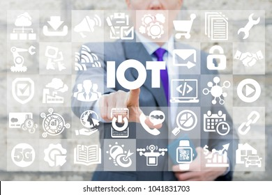 Internet of things. IOT. Smart Life Information Technology.