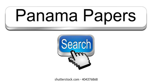 Internet web search engine Panama Papers