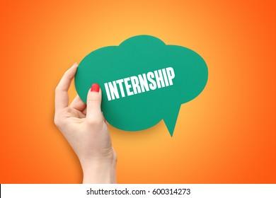 Internship, Business Concept