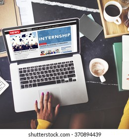 Intern Internship Images, Stock Photos & Vectors | Shutterstock
