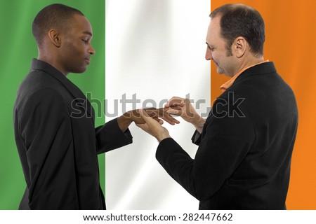 White interracial amateur gay