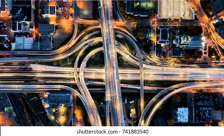 Intersection Aerial View