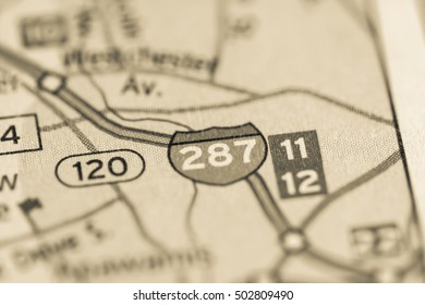 Map Of 287 New York.Interstate 287 Images Stock Photos Vectors Shutterstock