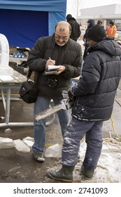 interview with ice carver
