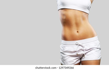 Intimate woman aesthetic abdomen beauty belly body