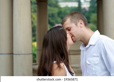 intimate young couple