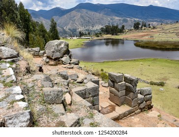 The Intiwatana and Pumacocha archaeological site, Ayacucho, Peru