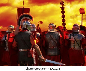 Into The Heat of Battle, part of my Roman Army series