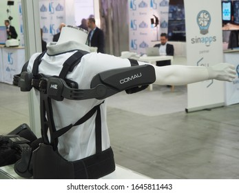 Introducing MATE, Comau Exoskeleton, an ergonomically designed wearable structure that increases work quality and efficiency Turin Italy February 12 2020