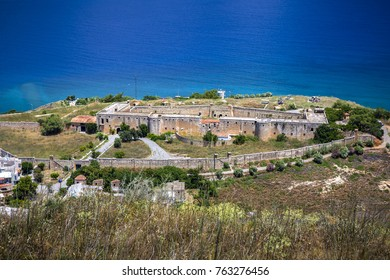 Intzedin Fort on Crete, Greece. One of the most terrible places in the history of Crete, built by the Turks