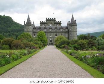 Inverarey Castle, Inverarey, Scotland