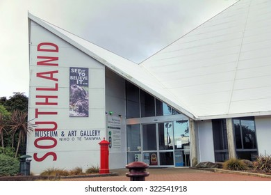INVERCARGILL, NEW ZEALAND - DEC 13, 2010 : Southland  museum and art gallery in Invercargill, NZ