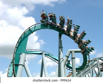 Inverted on Ice Roller Coaster