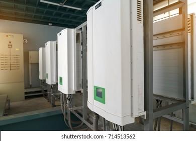 Inverter solar panel