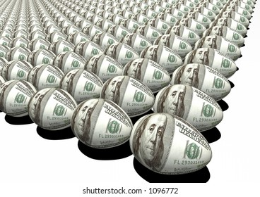 investment. dollar egg suitable investment, retirement,  travel agency web or print material