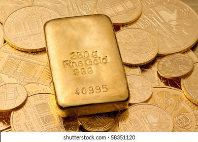 Investment in real gold than gold bullion and gold coins