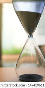 Investment that must compete with time hourglass