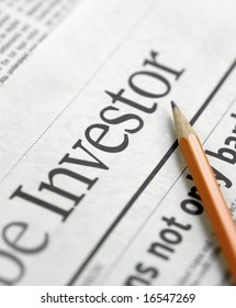 Investor - Business newspapers and market analysis