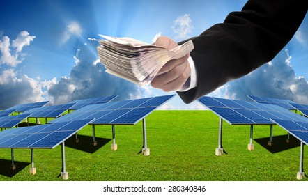 Investor pay for build solar farm