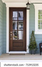 Inviting front door