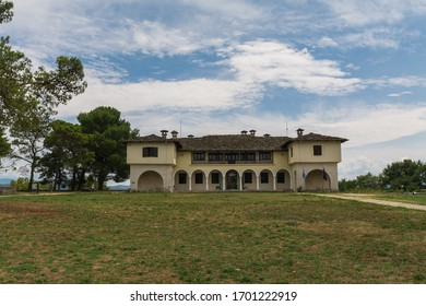 IOANNINA, EPIRUS/GREECE - AUGUST 03 2018: View of Byzantine Museum at Ioannina Castle (Its Kale) in Ioannina, Greece - Shutterstock ID 1701222919