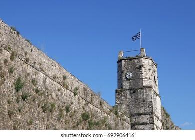 Ioannina fortress clock tower Greece