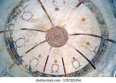 IOANNINA, GREECE - JUNE 06. Cupola of medieval Fetiche Mosque situated in the castle of Ioannina, the capital of Epirus County, on June 06, 2019 in Ioannina, Greece